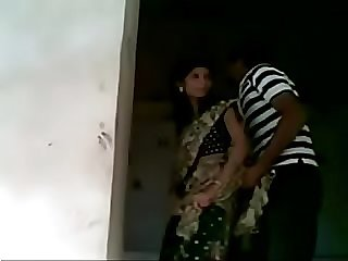 New married indian wife fucked by lover in temple